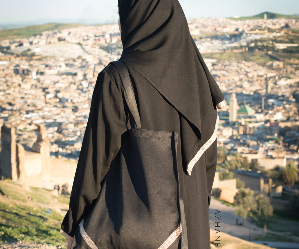 abaya azhanfez sfifa dorée