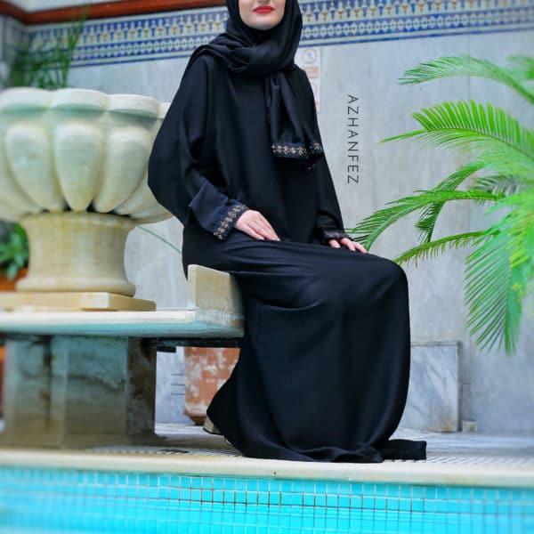 abaya azhanfez perles nejjarine 2
