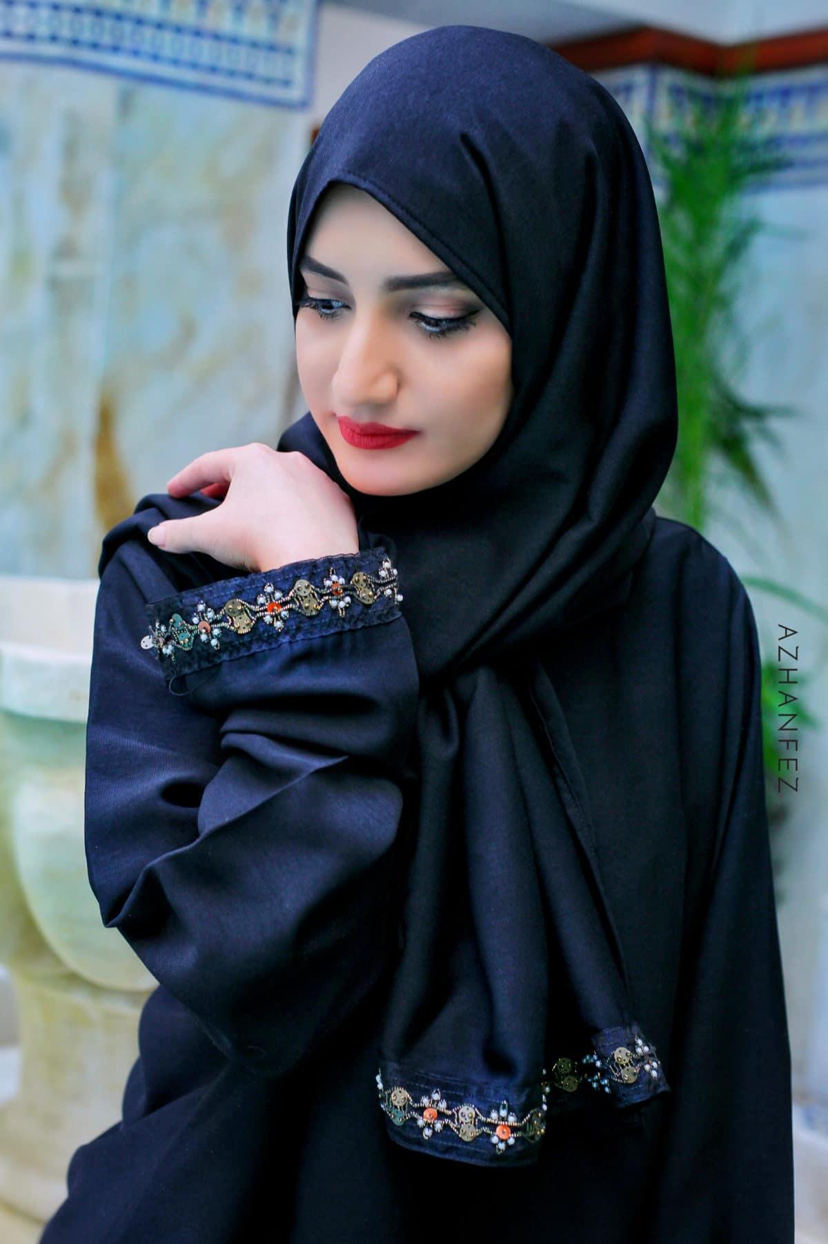 abaya azhanfez perles nejjarine 3