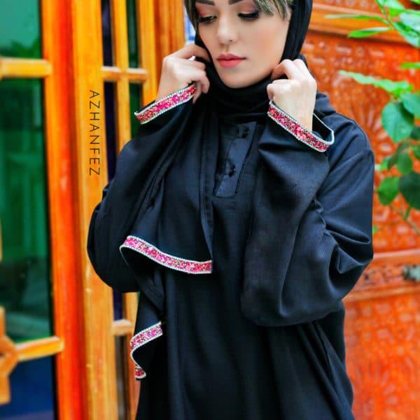 abaya azhanfez pierres et perles dekkakin 1